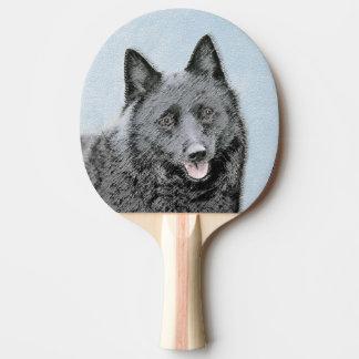 Schipperke Ping Pong Paddle