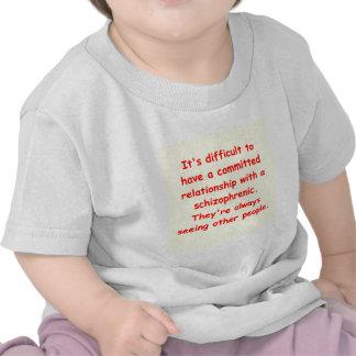 schizo joke t-shirts