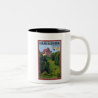 Schloß Eggersberg Two-Tone Coffee Mug