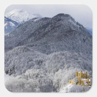 Schloss Hohenschwangau Square Sticker