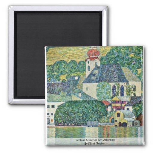 Schloss Kammer Am Attersee By Klimt Gustav Magnets