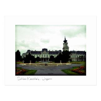 Schloss Keszthely , Ungarn Postkarte Postcard