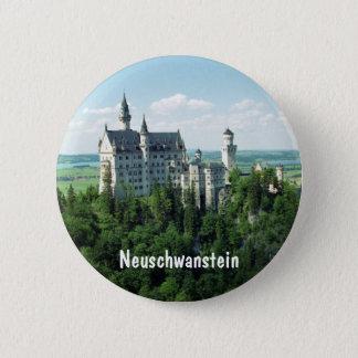 Schloss Neuschwanstein 2 Inch Round Button