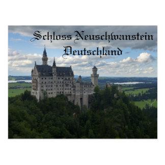 Schloss Neuschwanstein Castle Postcard