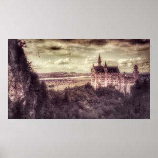 Schloss Neuschwanstein Castle Poster