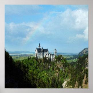 Schloss Neuschwanstein Composite Poster