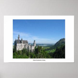 Schloss Neuschwanstein, Germany Poster