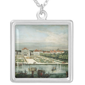 Schloss Nymphenburg, 1761 Silver Plated Necklace