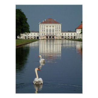 Schloss Nymphenburg Poster