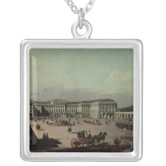 Schloss Schonbrunn, 1759-60 Silver Plated Necklace