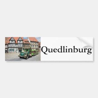 Schlossberg in Quedlinburg Bumper Sticker