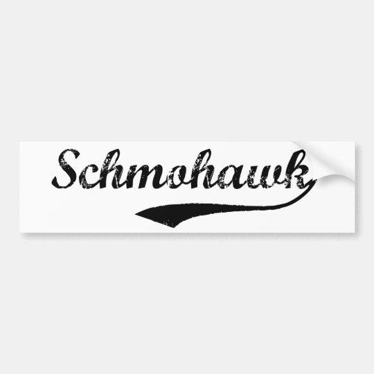 SCHMOHAWK bumper sticker