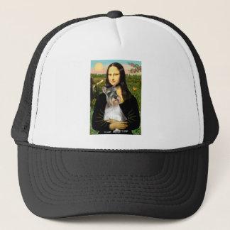 Schnauzer 11N - Mona Lisa Trucker Hat
