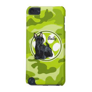 Schnauzer bright green camo camouflage iPod touch (5th generation) cover