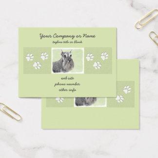 Schnauzer Business Card