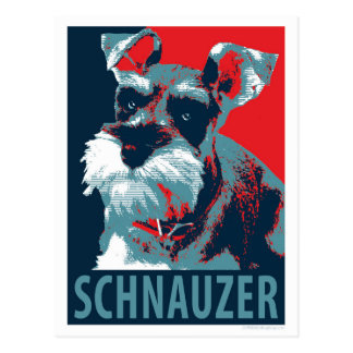 Schnauzer by Hope Dogs Postcard