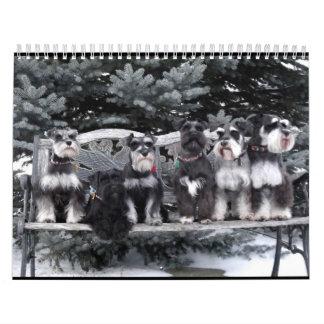 Schnauzer Calendar 2018