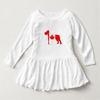 Schnauzer Canada Dress