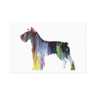 Schnauzer Canvas Print