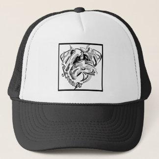 Schnauzer Dog Doodle Trucker Hat