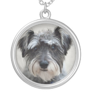 Schnauzer Dog Necklace