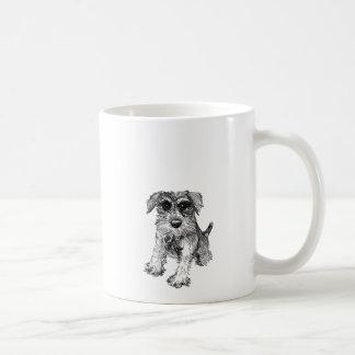 Schnauzer Drawing on Mug