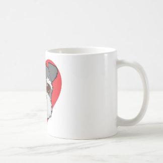 Schnauzer Face Coffee Mug