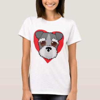 Schnauzer Face T-Shirt