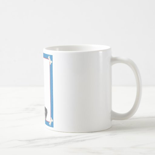 Schnauzer Frame Coffee Mug