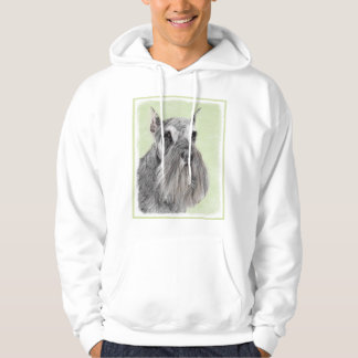 Schnauzer (Giant, Standard) Painting - Dog Art Hoodie