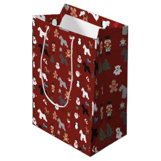 Schnauzer Gift Bag Medium