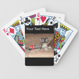 Schnauzer Merchandise Bicycle Playing Cards