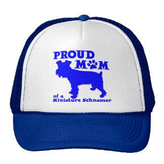 SCHNAUZER MOM TRUCKER HAT