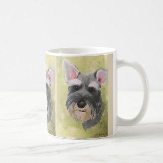 Schnauzer One Ear Up Mug