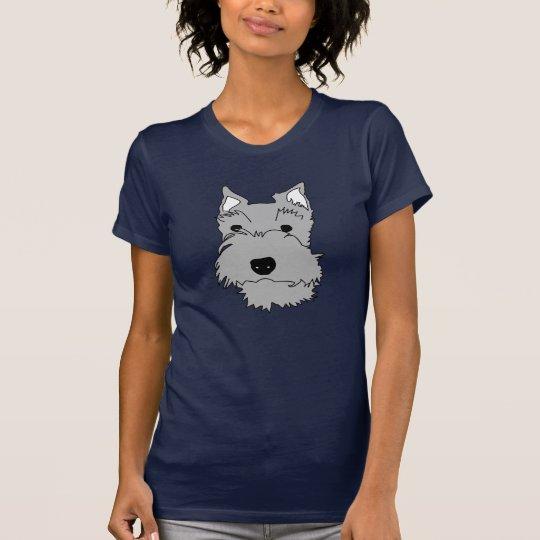 Schnauzer (Pearl) T-Shirt