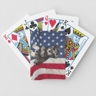 Schnauzer Playing Cards