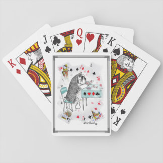 Schnauzer Playing Cards Deck