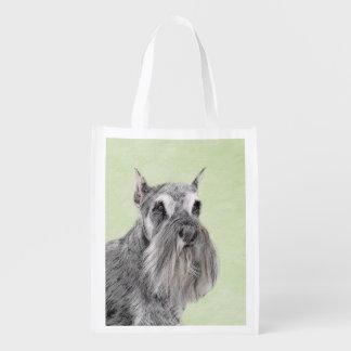 Schnauzer Reusable Grocery Bag