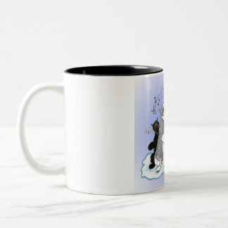 Schnauzer Singing in the Schnow Mug