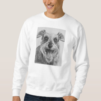 Schnauzer Sketch Artwork Sweatshirt