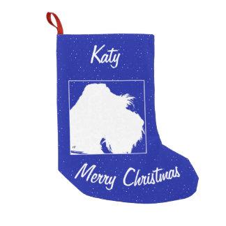 Schnauzer Small Christmas Stocking
