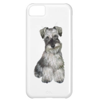 Schnauzer (V) - (natural ears) iPhone 5C Cover