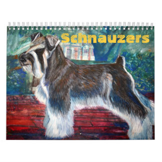 Schnauzers Calendars