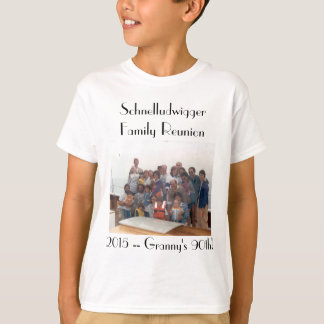 Schnelludwigger Family Reunion 2015 Kids' Tee! T-Shirt