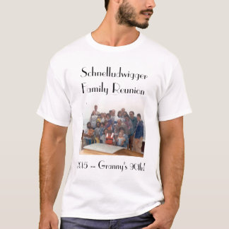 Schnelludwigger Family Reunion 2015 Mens' Tee! T-Shirt