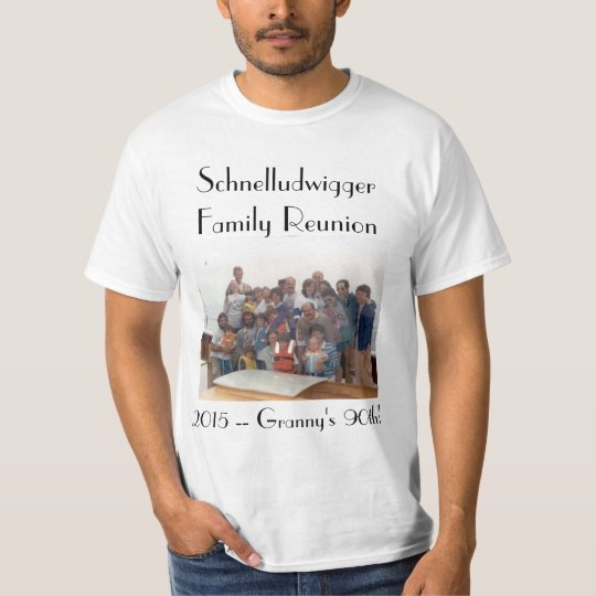 Schnelludwigger Family Reunion 2015 Unisex Tee! T-Shirt