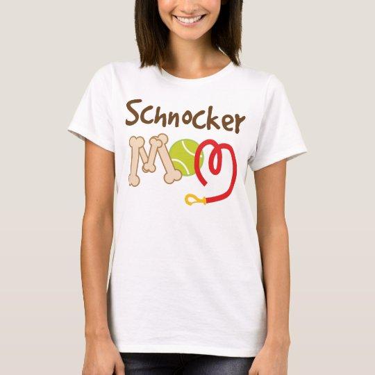 Schnocker Dog Breed Mom Gift T-Shirt