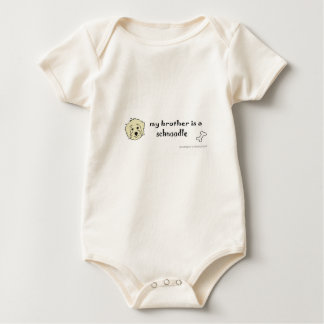 schnoodle baby bodysuit