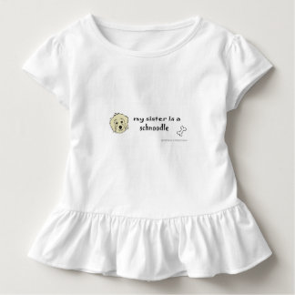 schnoodle toddler t-shirt