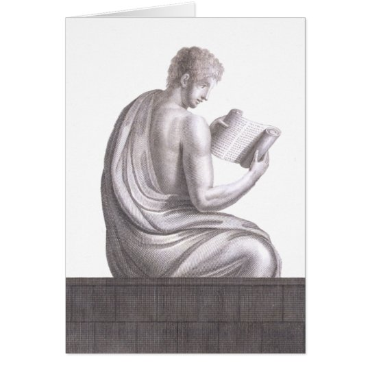Scholar from Pompei - Greeting Card